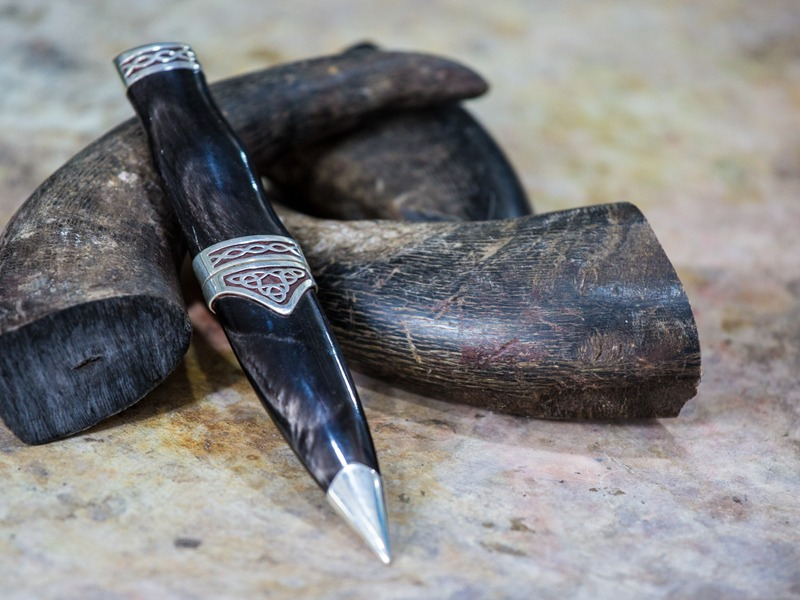 from horn to sgian dubh